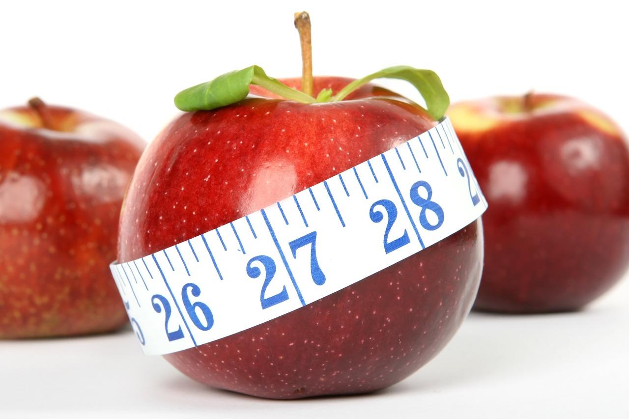 manzana roja para las dietas saludables