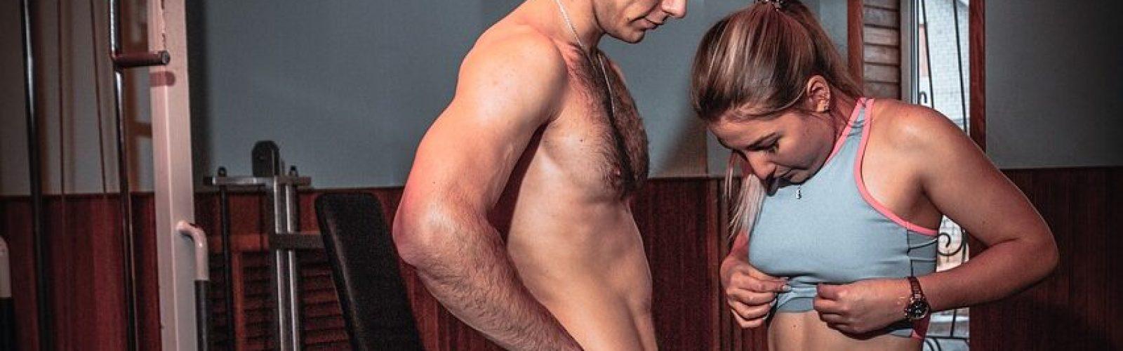 abdominales hombre y mujer